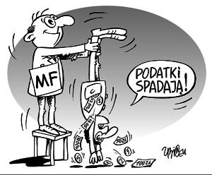 Podatki - zmiany według MF